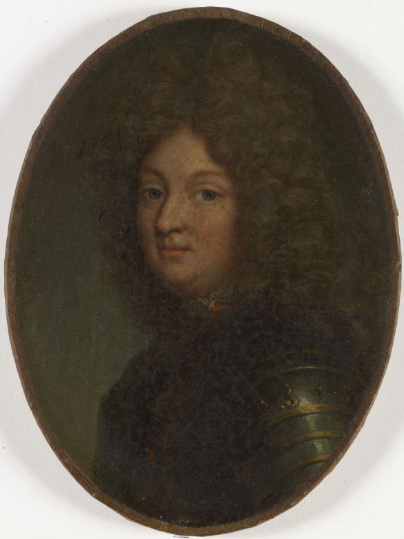 n°10 Portrait de Louis (1661-1711), dit le Grand Dauphin, fils unique de Louis XIV